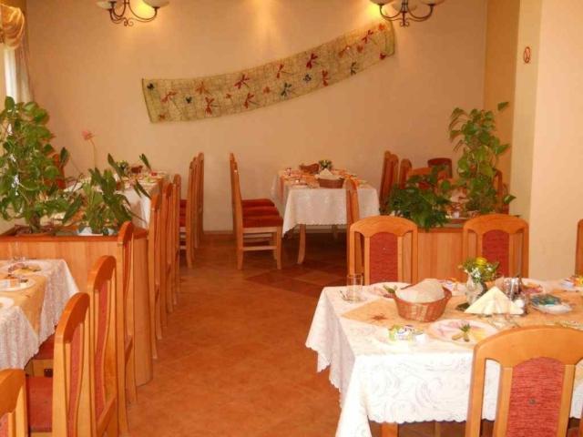 Restauracja dla naszych gości w Willi Krokus w Kudowie Zdroju